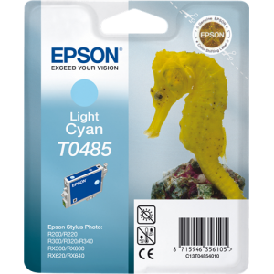 EPSON T0485 CYAN LIGHT CARTUCHO DE TINTA ORIGINAL C13T04854010